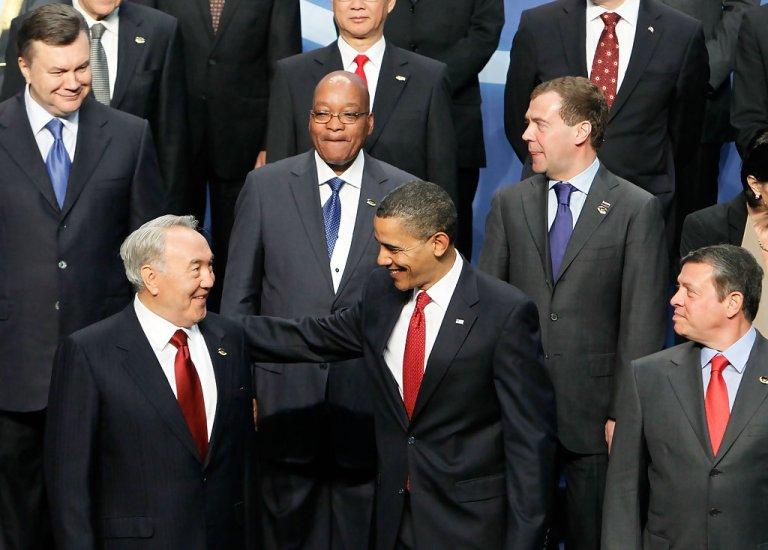 Barack+Obama+Nursultan+Nazarbayev
