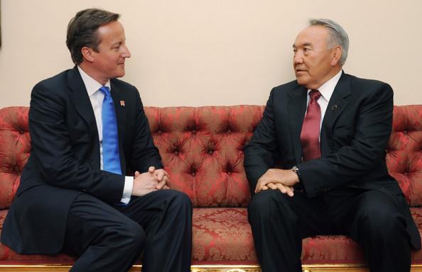 Nursultan+Nazarbayev+Reception+Buckingham Cameron
