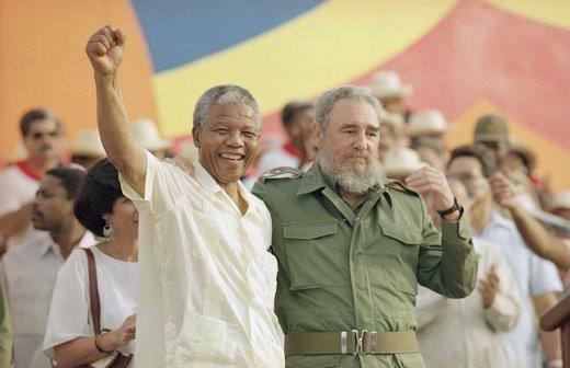 mandela viva la rivoluzione cubana