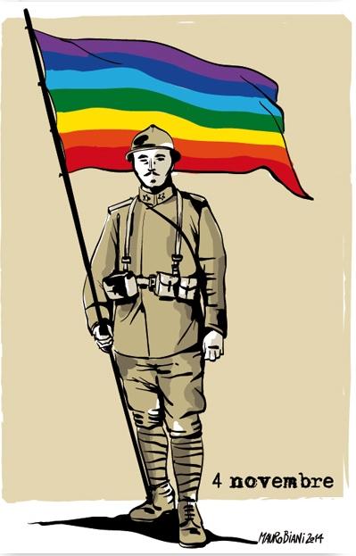 soldato-bandiera-pace-4-novembre-il-manifesto
