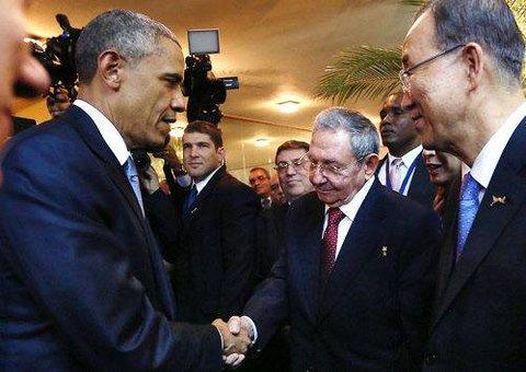 Raul Castro Barack obama