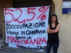 Campania disoccupazione